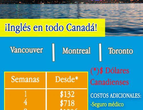 INGLES EN TODO CANADA