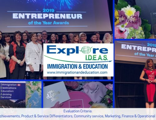 "AWARD: ENTREPRENEUR OF THE YEAR. ""EYA"""