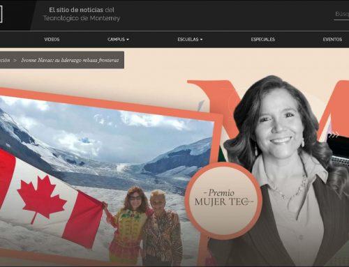 Ivonne Navas: Su Liderazgo rebasa fronteras. Her Leadership transcends borders.