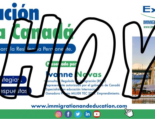 HOY SEMINARIO. Inmigración Legal a Canadá. Sistema EXPRESS ENTRY a Residencia Permanente