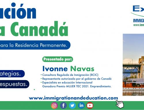 SEMINARIO. Inmigración Legal a Canadá. Sistema de EXPRESS ENTRY para la Residencia Permanente